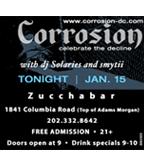 Corrosion at Zucchabar