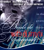 Club Orpheus flyer