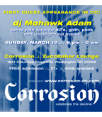 Corrosion Adam Mohawk flyer