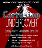 Corrosion Undercover flyer
