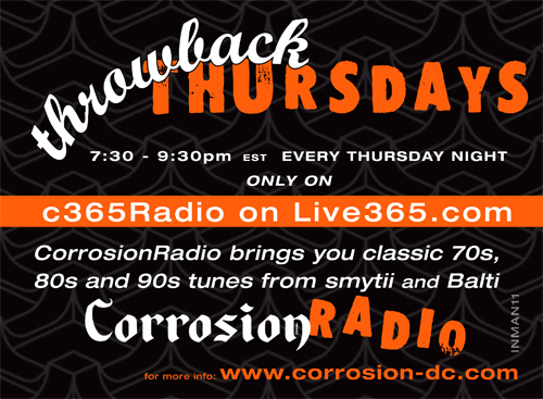 Throwback Thursdays only on c365Radio