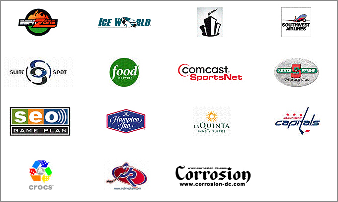 Hockey Fights Cancer MD's sponsors